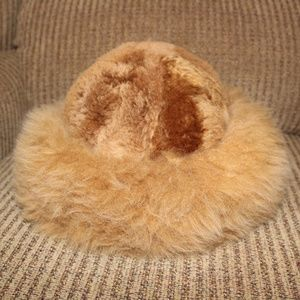 Authentic Vintage Cruelty Free Alpaca Fur Hat